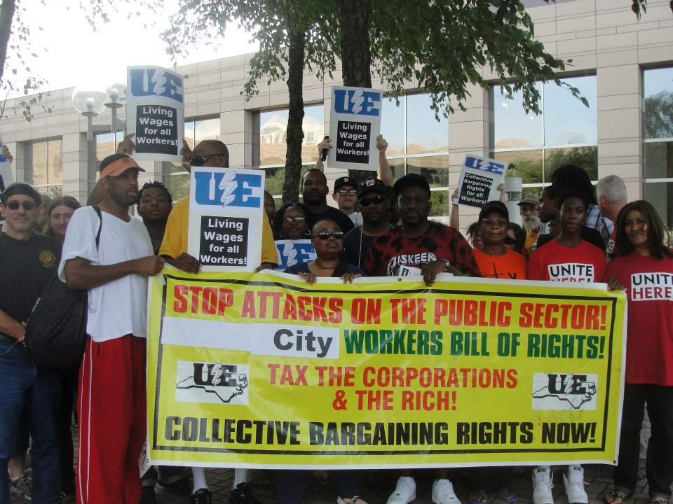 August 13 Charlotte City Picket