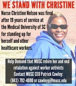 Nurse Christine Nelson