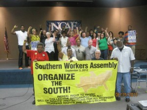 Raleigh Worker SpeakOut SWA NCAE UE