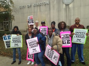 Kinston $15 rally Nov 15, 2015