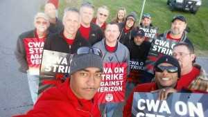 Verizon strike VA pic-Deb