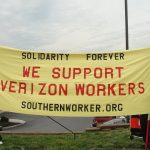 Image for SWA Affiliates Across US South Support Striking Verizon Workers!