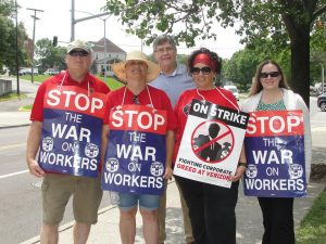 VEA Verizon Strike Roanoke