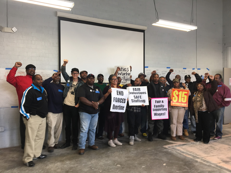 NC City Workers