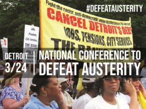 National Conference Against Austerity